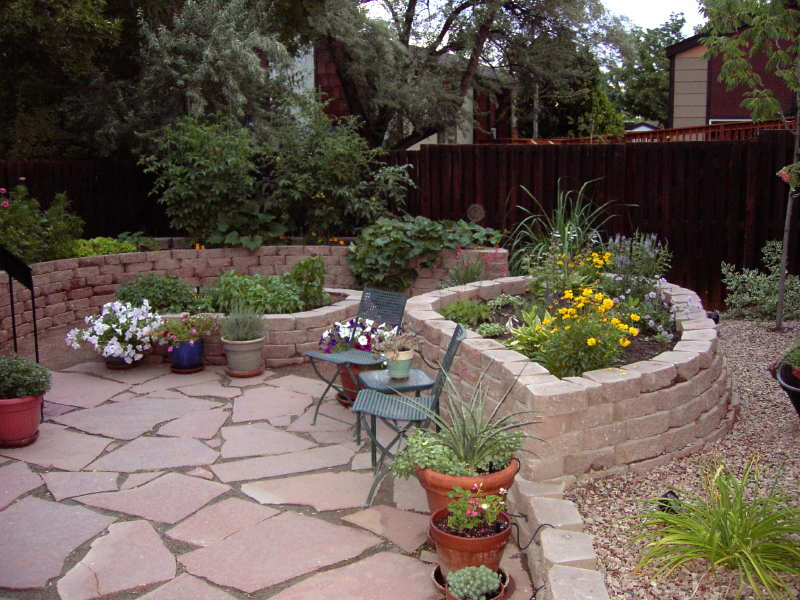 Small space landscapes image search results Garden ideas for small spaces